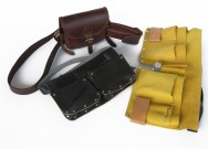 Tool belts and bag for cartridges