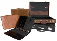 Suitcases, briefcases, file folders and organizers